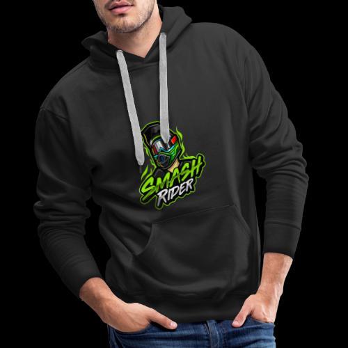 SmashRider Green - Men's Premium Hoodie