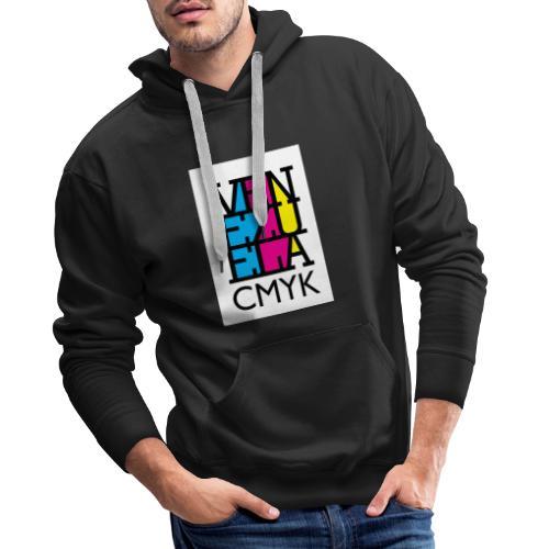 Venezuela CMYK - Sudadera con capucha premium para hombre
