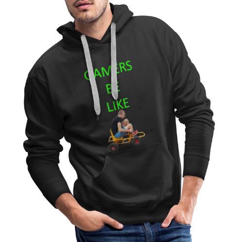 KrestenDesign #1 - Herre Premium hættetrøje