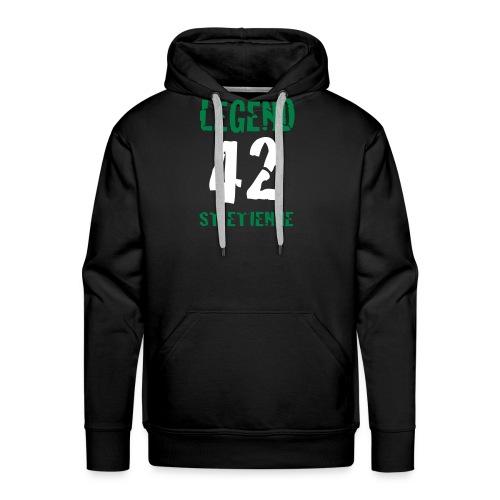 ST ETIENNE LEGEND 42 - Sweat-shirt à capuche Premium pour hommes