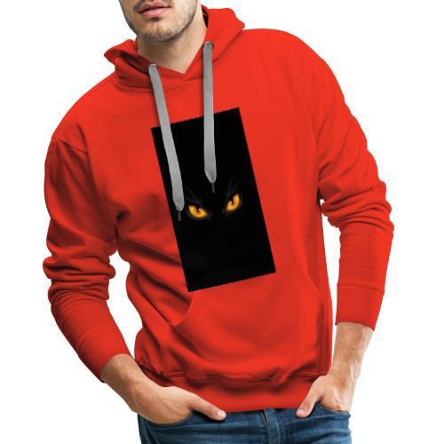 Black cat eye - Männer Premium Hoodie