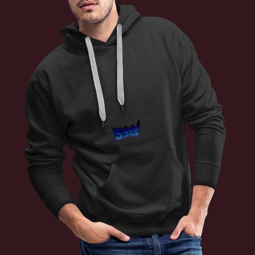 Ares blue - Sweat-shirt à capuche Premium pour hommes