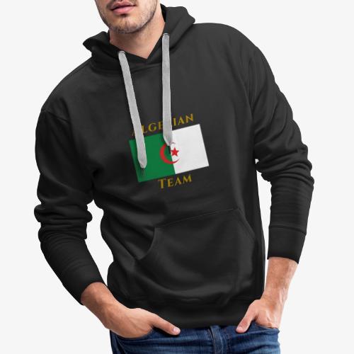 Algerian (Test Collection) - Sweat-shirt à capuche Premium pour hommes