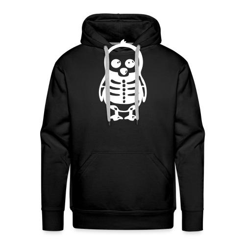 Pingouin Squelette - Sweat-shirt à capuche Premium pour hommes