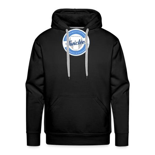 logo twictee - Sweat-shirt à capuche Premium pour hommes