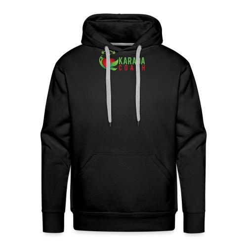 Karada Coaches Coach Logo - Mannen Premium hoodie