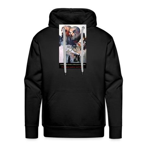 Collectif des Parties Civiles - Sweat-shirt à capuche Premium pour hommes