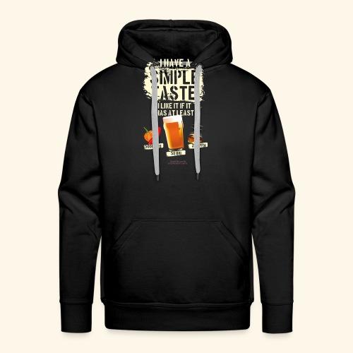 Whiskey Chili Craft Beer SHU IBU PPM - Männer Premium Hoodie