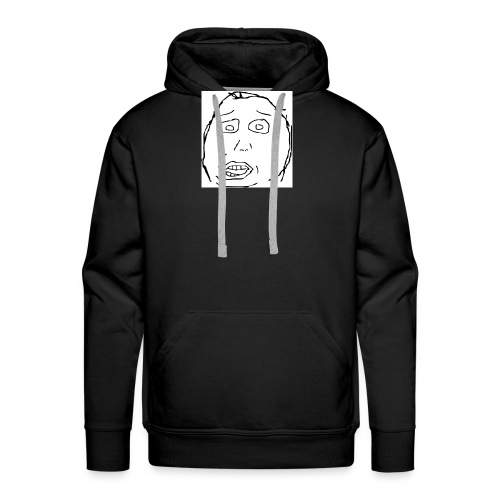 dumb face - Men's Premium Hoodie