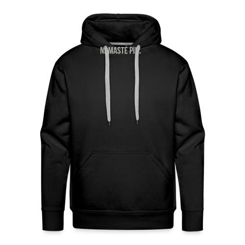 Namasté pik. - mannen - Mannen Premium hoodie