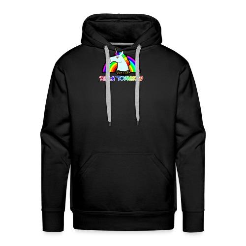 Logo officiel de la team forcing - Sweat-shirt à capuche Premium pour hommes