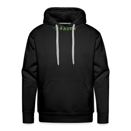 Razer Logo Transparent Background - Men's Premium Hoodie