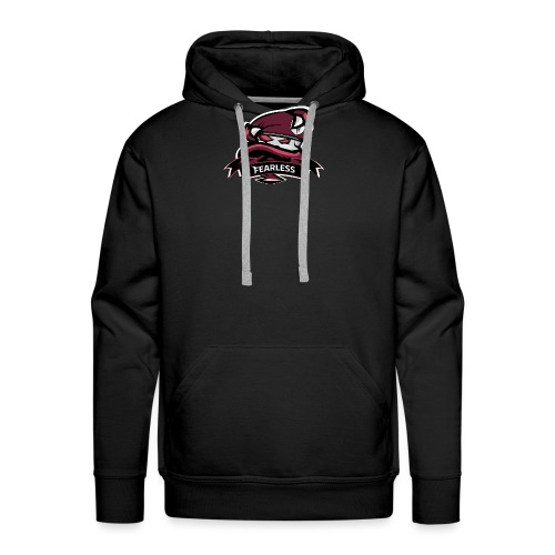 Logo Chaine Fearless TM - Sweat-shirt à capuche Premium pour hommes