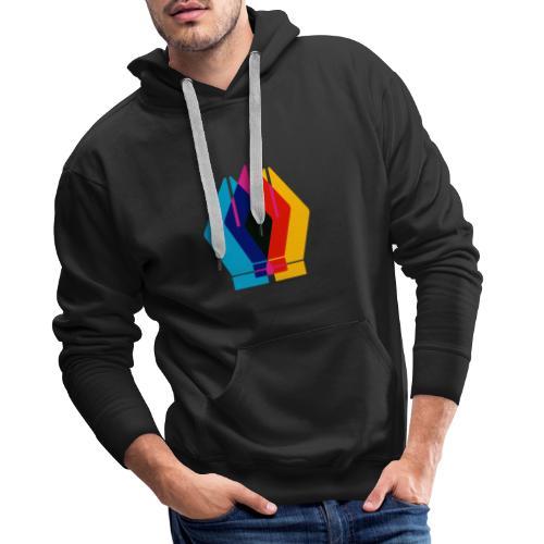 Design - Bluza męska Premium z kapturem
