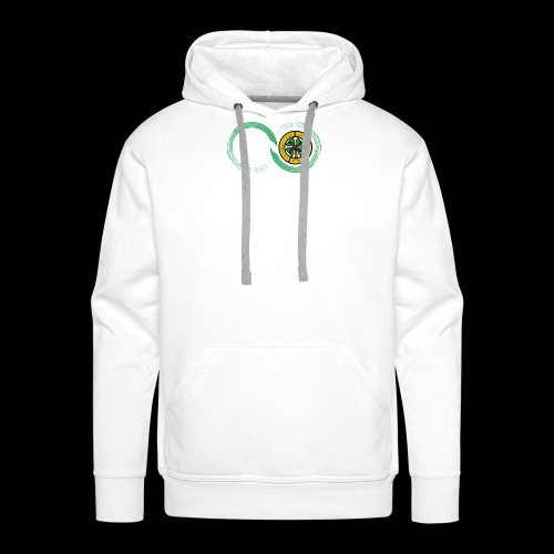 Harp and French CSC logo - Sweat-shirt à capuche Premium pour hommes