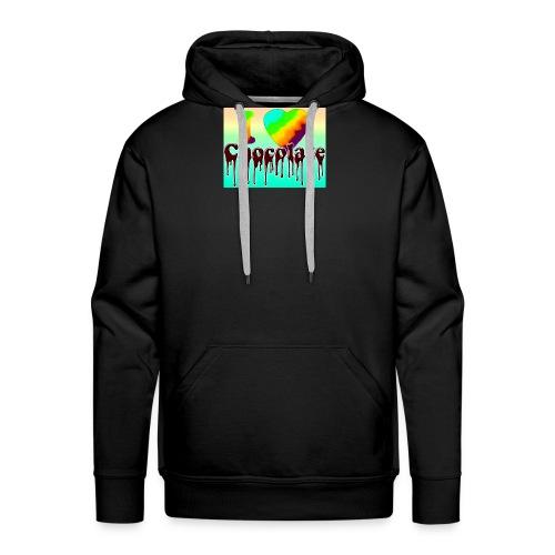 ILOVCHOCO2 copie - Sweat-shirt à capuche Premium pour hommes