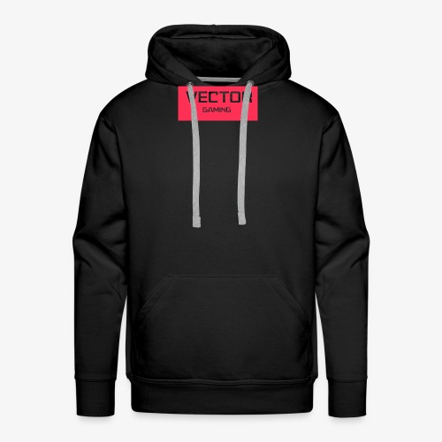 Coral Vector Gaming Logo - Men's Premium Hoodie
