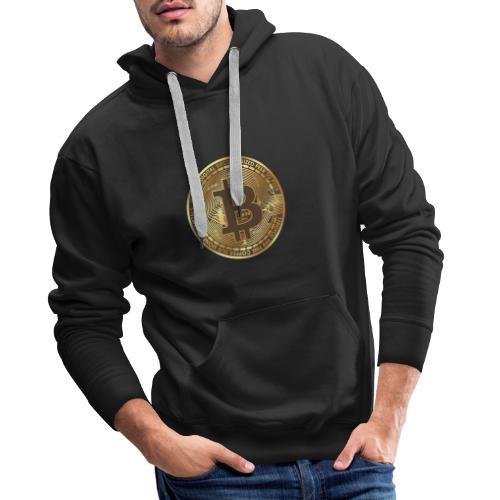 BTC - Sweat-shirt à capuche Premium pour hommes