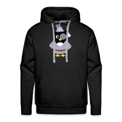 Pingouin Gadget - Sweat-shirt à capuche Premium pour hommes