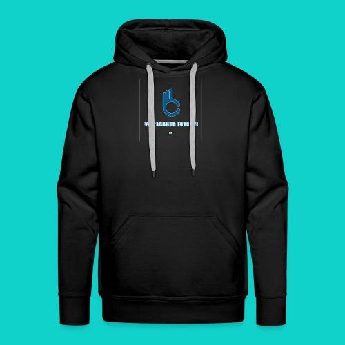 You lokked into it! - Sweat-shirt à capuche Premium pour hommes