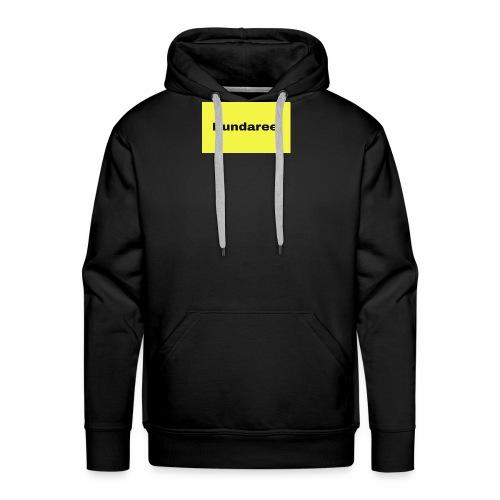 yellow & black dundaree gear - Men's Premium Hoodie