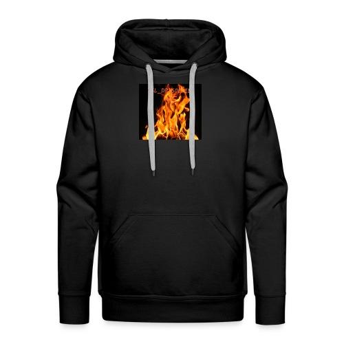 ESL_DRKSOLDIER mit Flamme - Männer Premium Hoodie