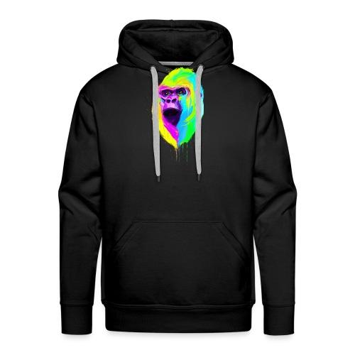 gorilleOkprint.png - Sweat-shirt à capuche Premium pour hommes