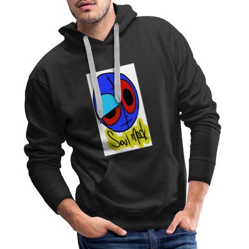 Sin motivo - Sudadera con capucha premium para hombre