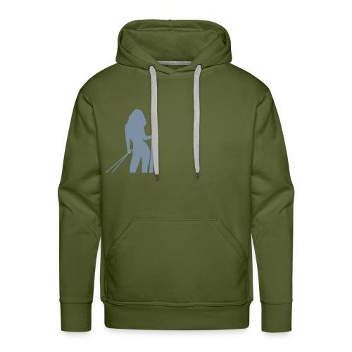 Skigirl - Männer Premium Hoodie