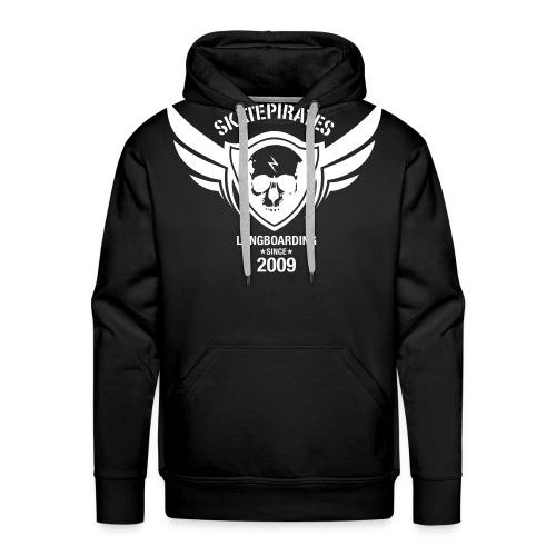 SKATEPIRATES Longboarding since 2009 - Männer Premium Hoodie