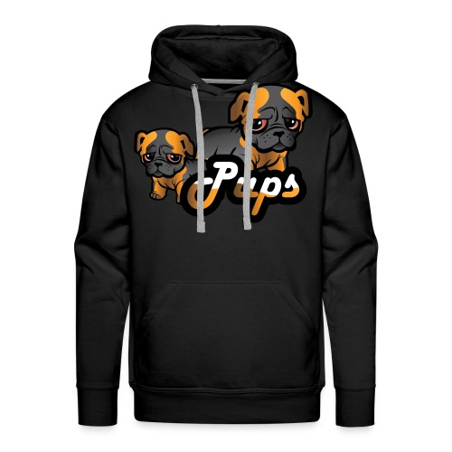 Pups - Premium hettegenser for menn
