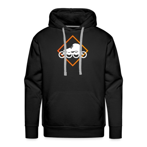 Speedskating Orange - Männer Premium Hoodie