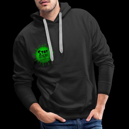 stay at home 5011005 960 720 - Men's Premium Hoodie