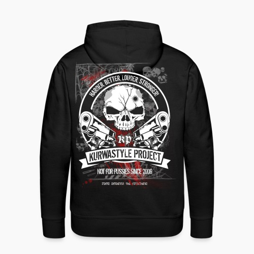 Kurwastyle Project - Terror Worldwide - Men's Premium Hoodie