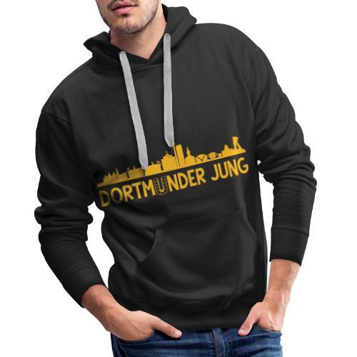 Dortmunder Jung Skyline - Männer Premium Hoodie