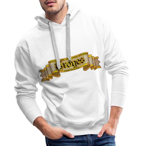 TROYES - Sweat-shirt à capuche Premium pour hommes