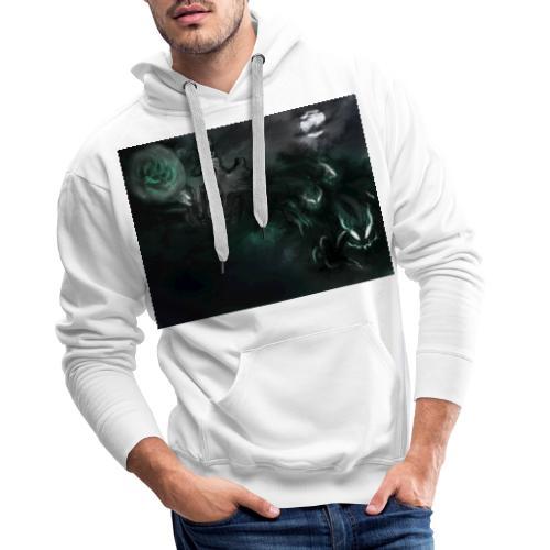 dark santa - Sweat-shirt à capuche Premium pour hommes