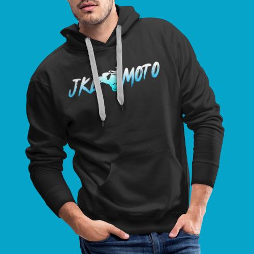JKLMoto Aerox Black - Premiumluvtröja herr