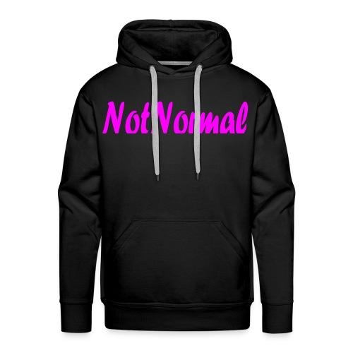 NotNormal Rosa - Premium hettegenser for menn