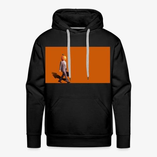 Pumpkinman - Mannen Premium hoodie