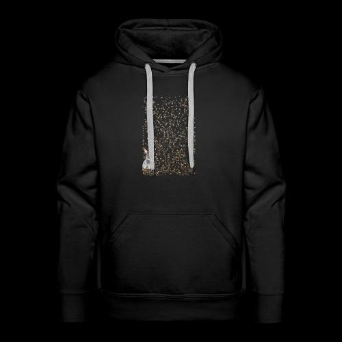 rabbit droppings mogosop - Mannen Premium hoodie