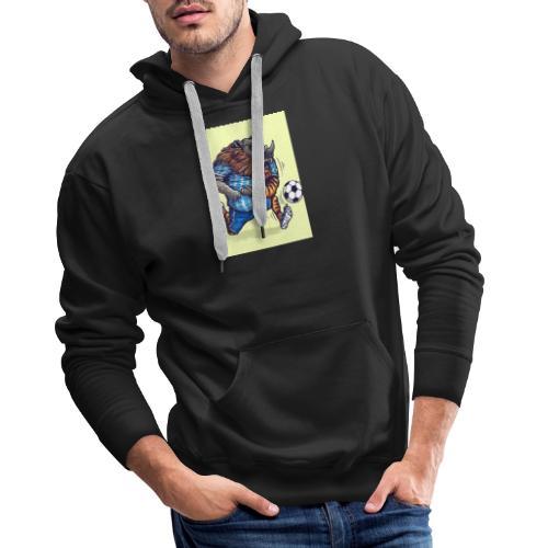 Soccer Mascot - Männer Premium Hoodie