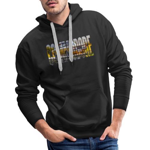 rekord commo word design - Mannen Premium hoodie