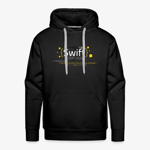 Swift tShirt2 png - Felpa con cappuccio premium da uomo