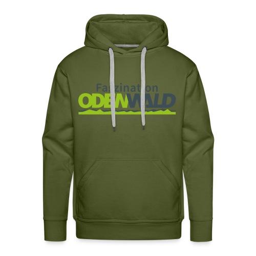 Faszination Odenwald Logo - Männer Premium Hoodie