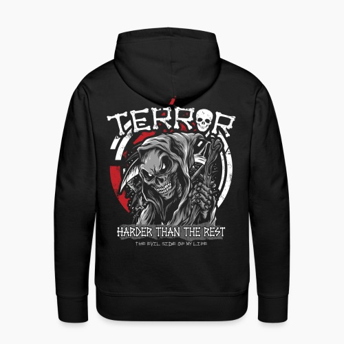 Terror - Harder Than The Rest - Men's Premium Hoodie