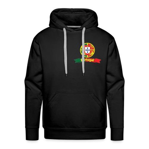 Portugal Campeão Europeu Camisolas de Futebol - Men's Premium Hoodie