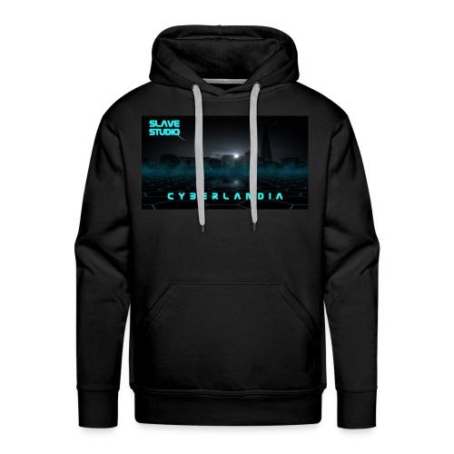 Cyberlandia - Felpa con cappuccio premium da uomo