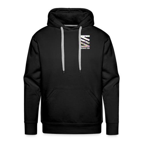 Falling logo - Men's Premium Hoodie