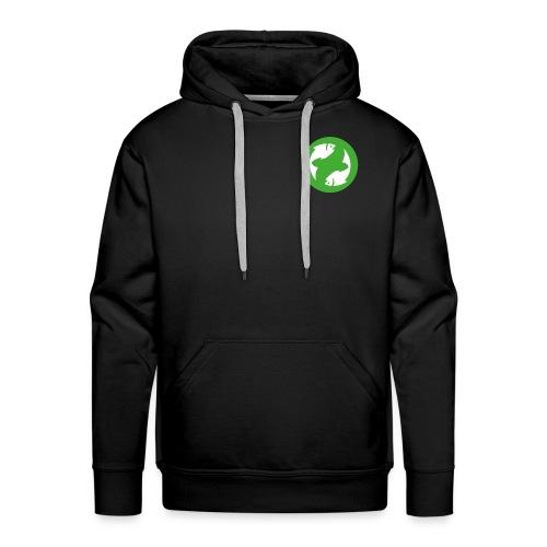 logo-simple - Sweat-shirt à capuche Premium pour hommes
